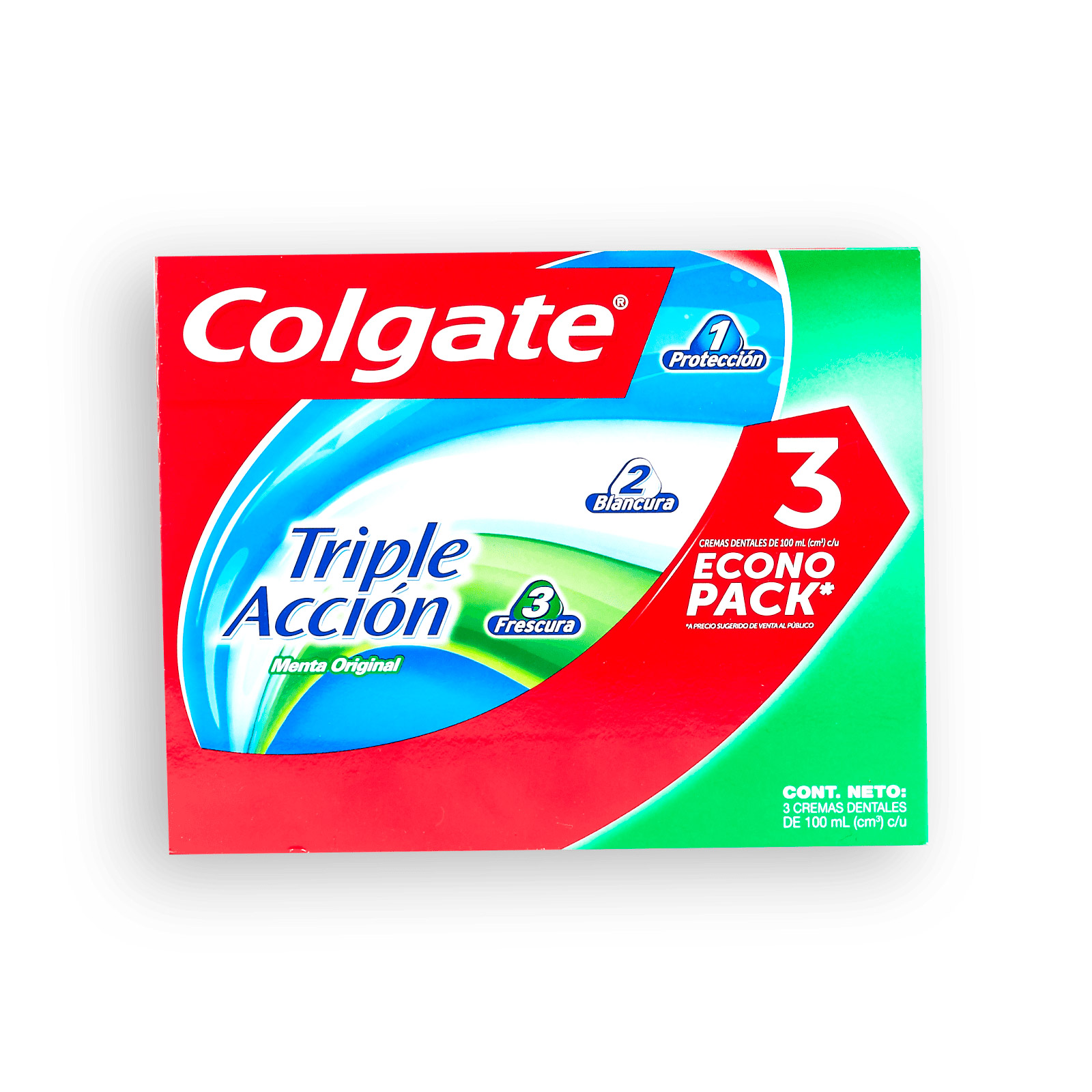Crema Dental Colgate Triple Acción