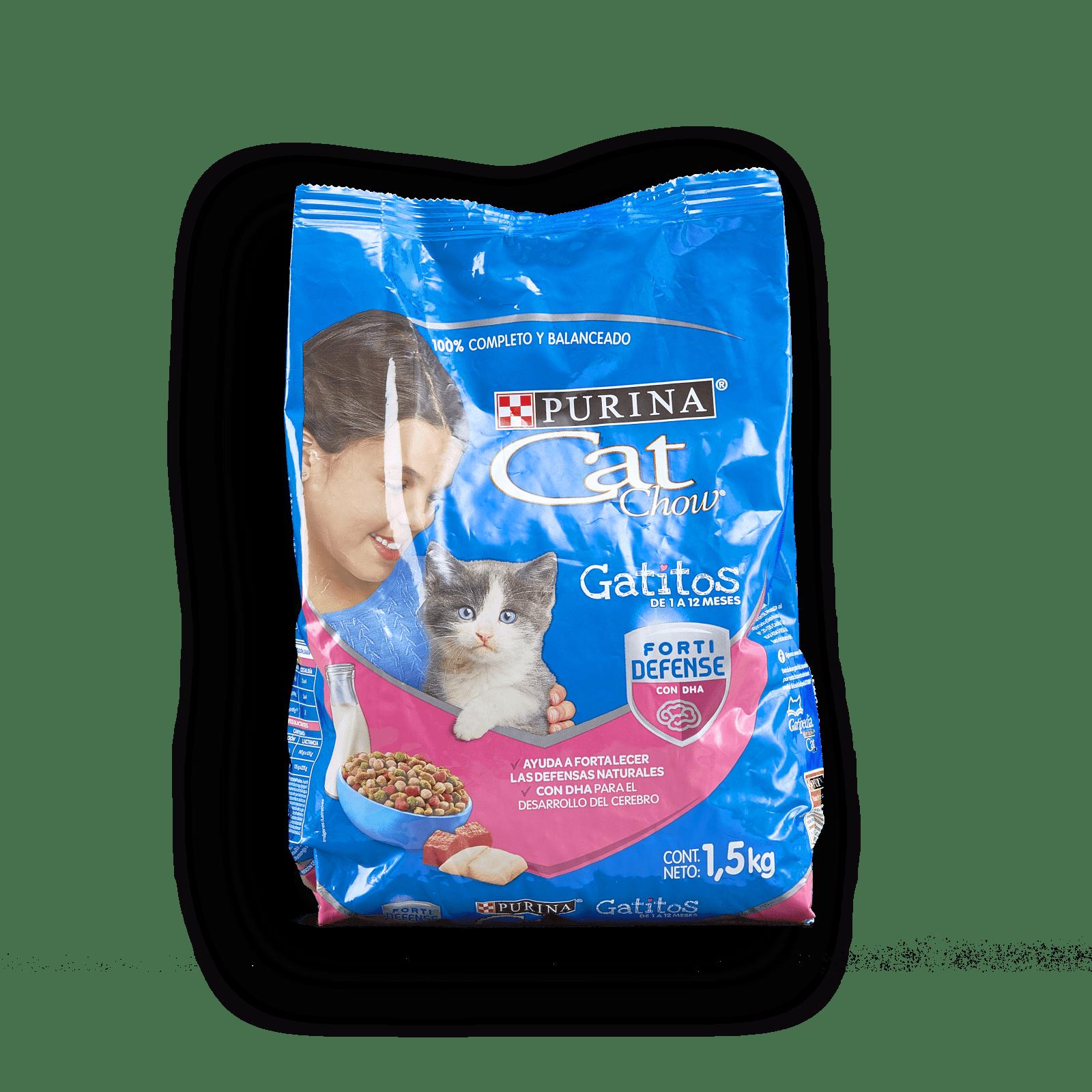 Alimento Gatitos Purinacat Chow De 1 A 12 Mes Fo