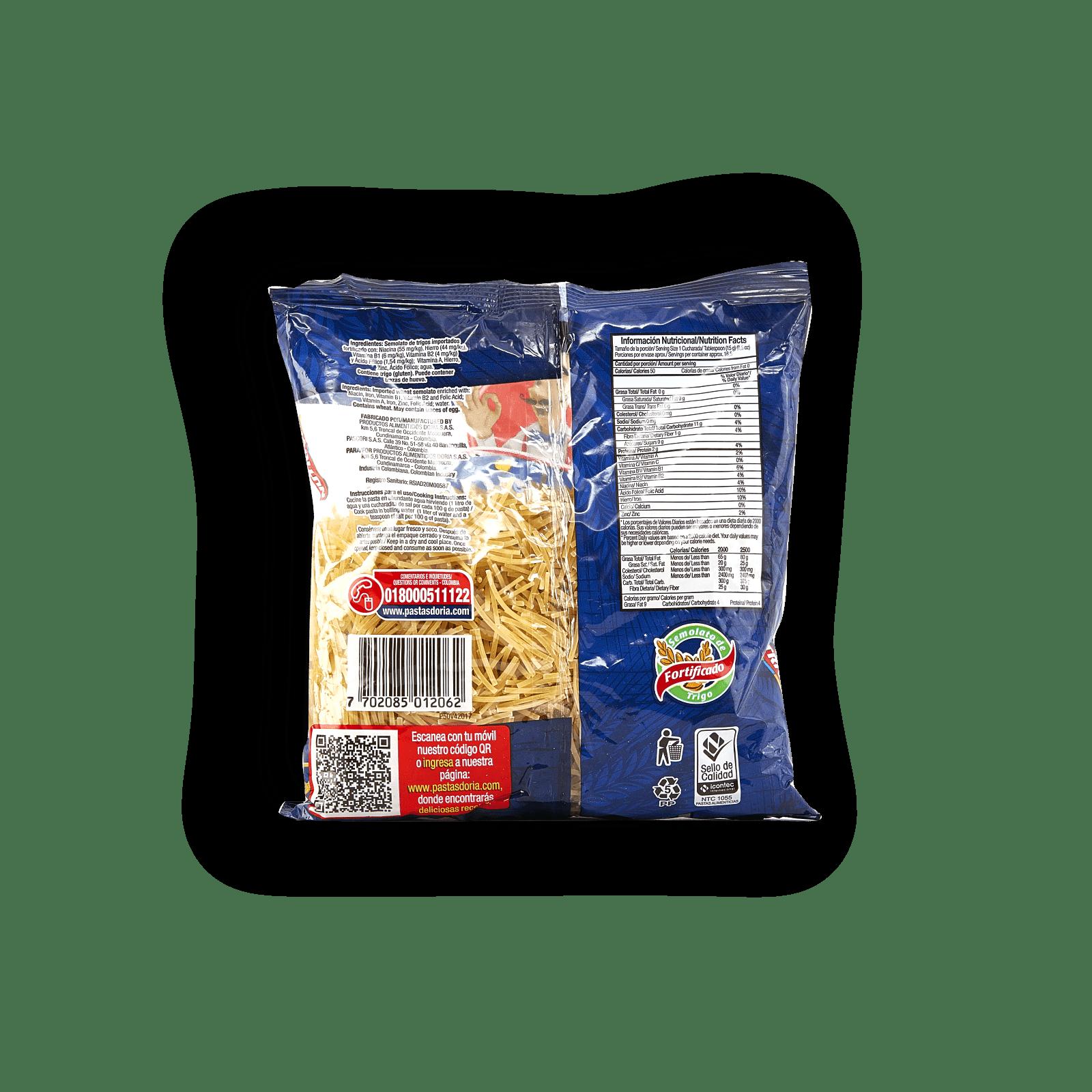 Pasta Doria Fideos