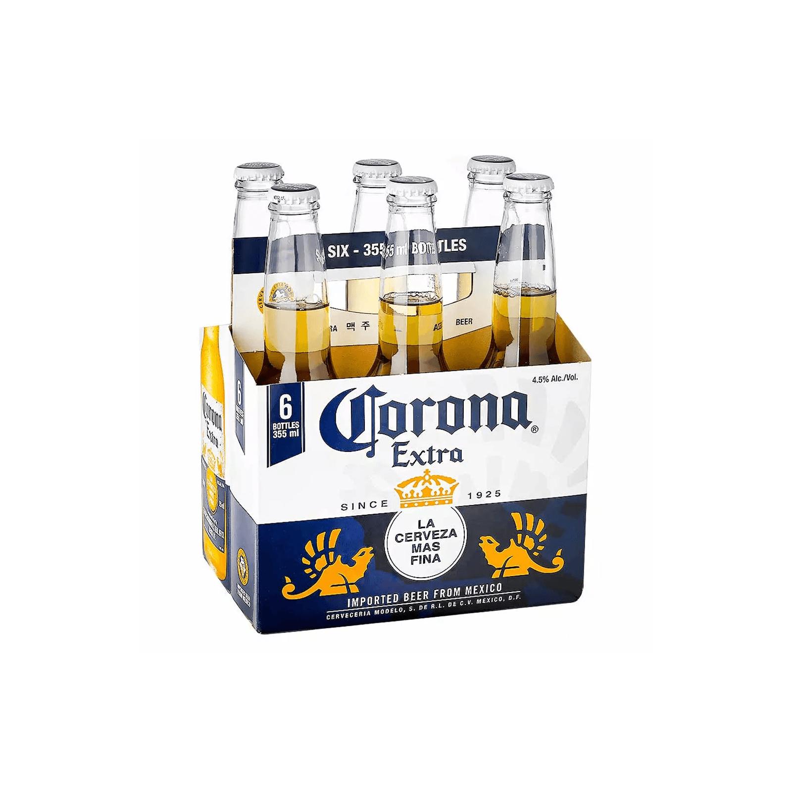 Cerveza Corona Extra X 6