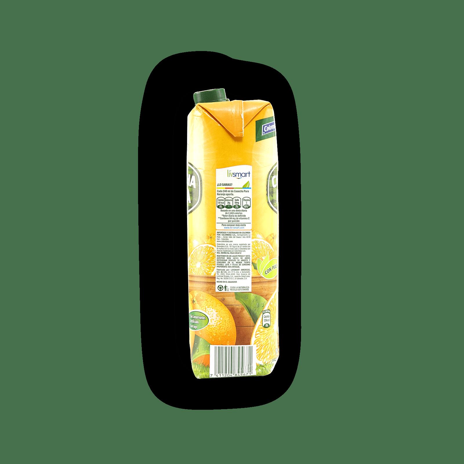 Refresco De Naranja Cosecha Pura Petit