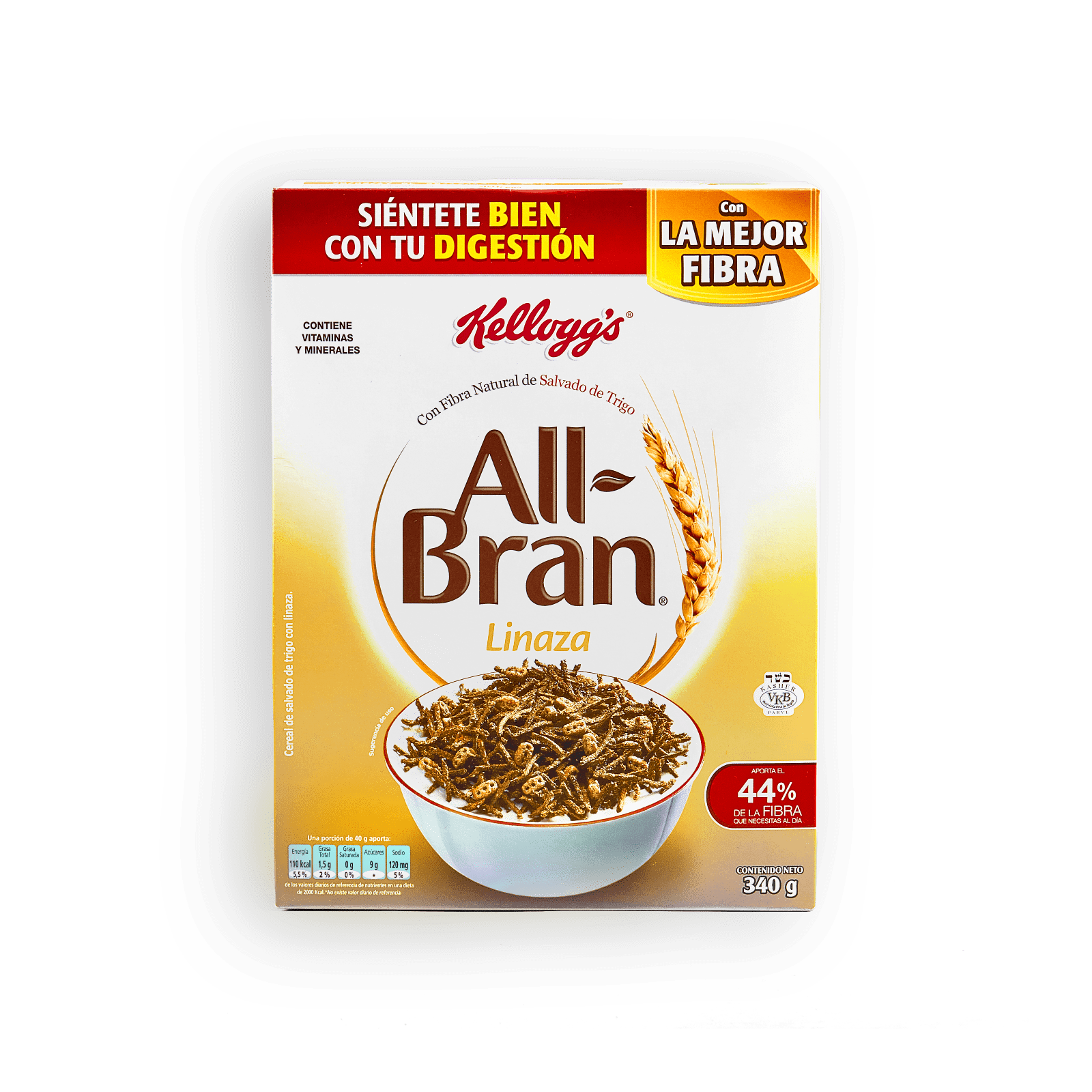 Cereal All Bran Linaza