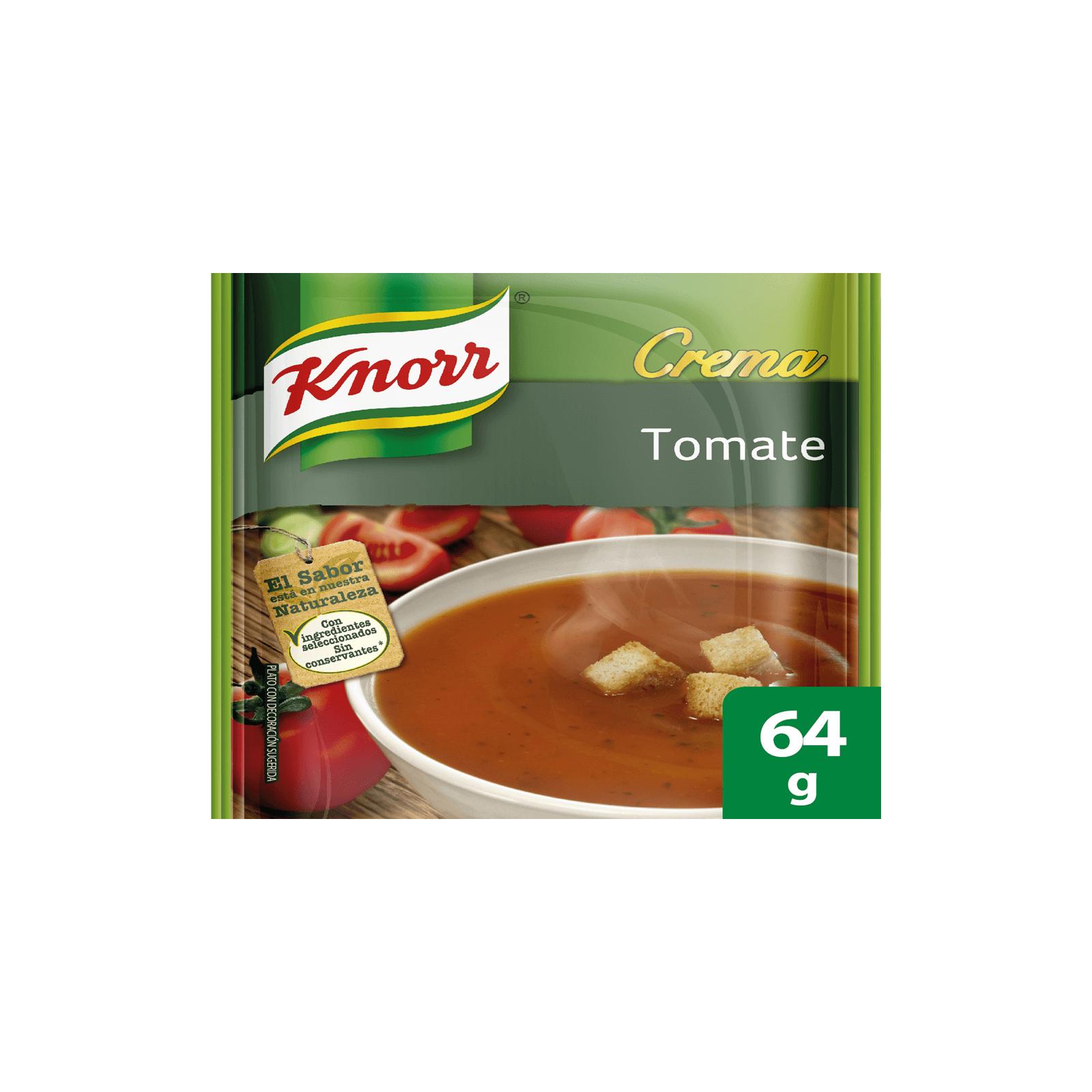 Crema De Tomate Knorr