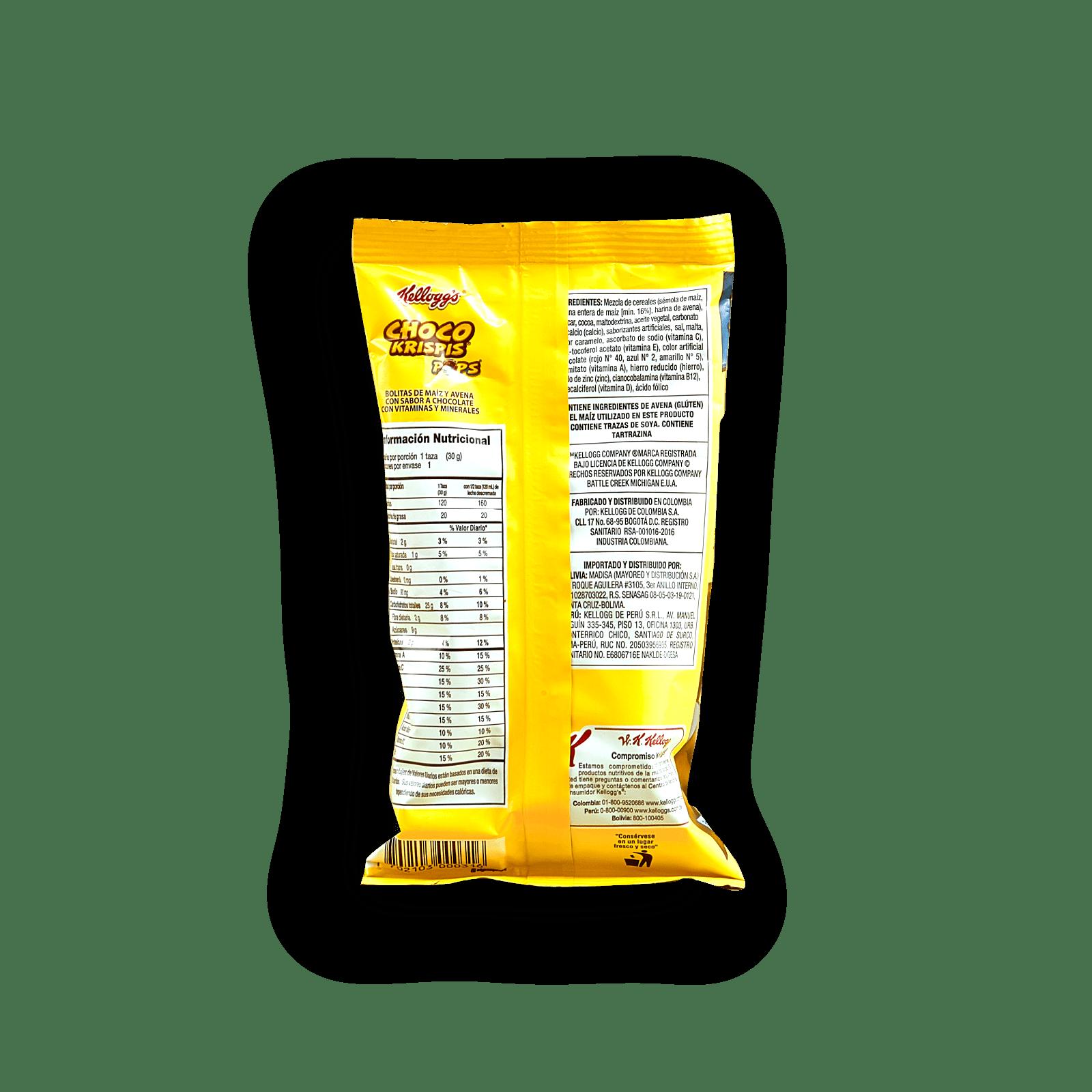Cereal Choco Krispis Pops Paketicos