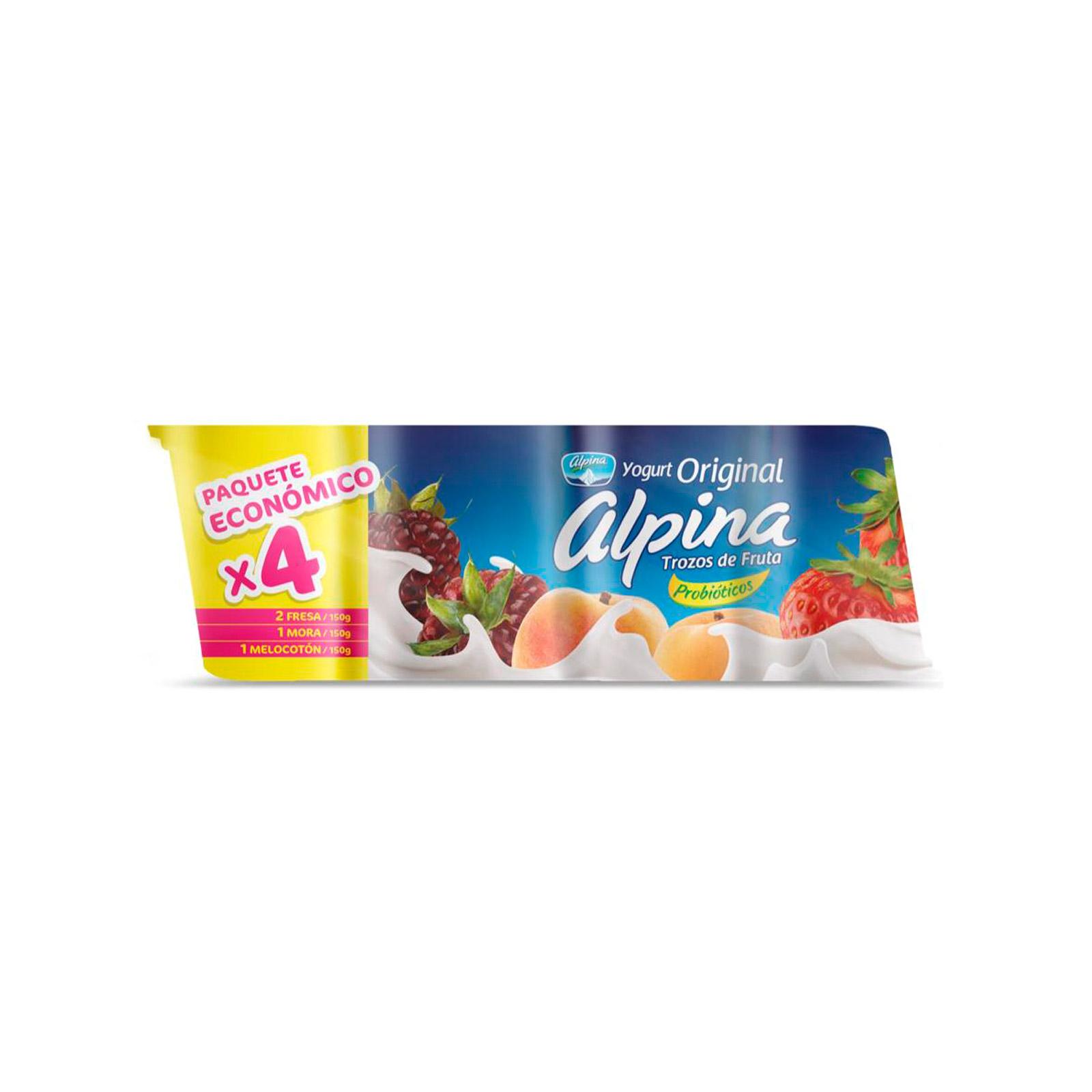 Yogurt Alpina Surtido