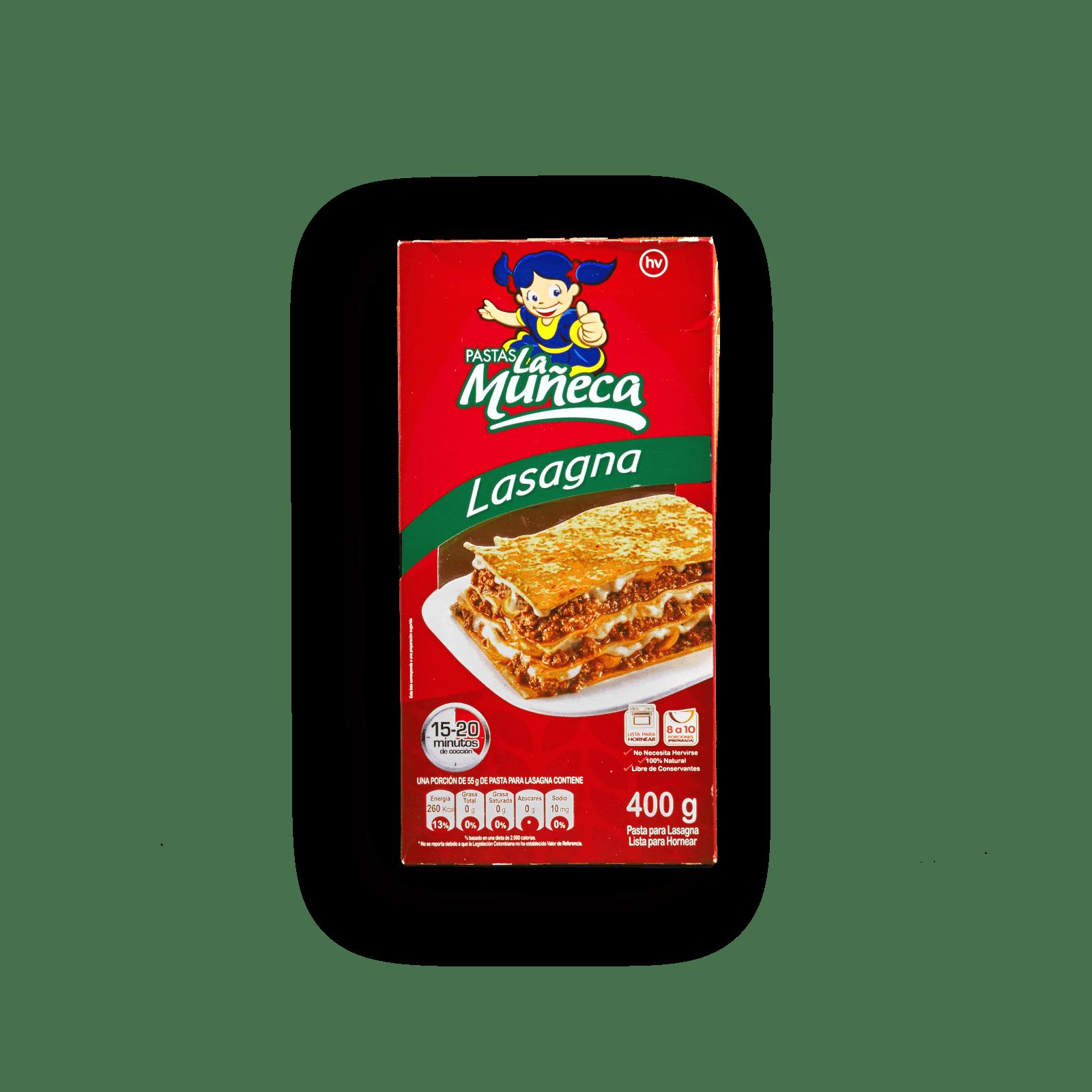 Pasta La Muñeca Lasagna