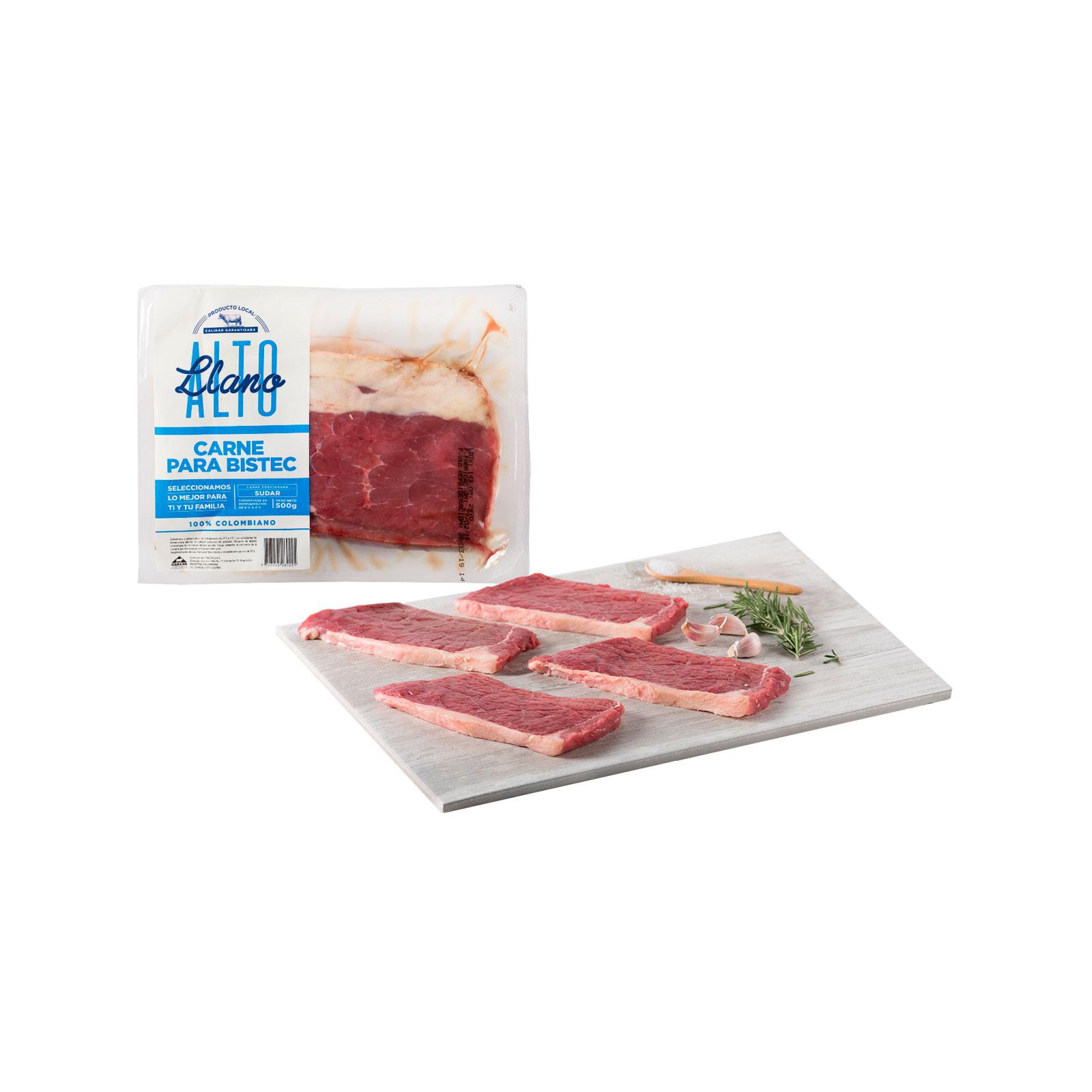 Carne Para Bistec Llano Alto (Cialta)