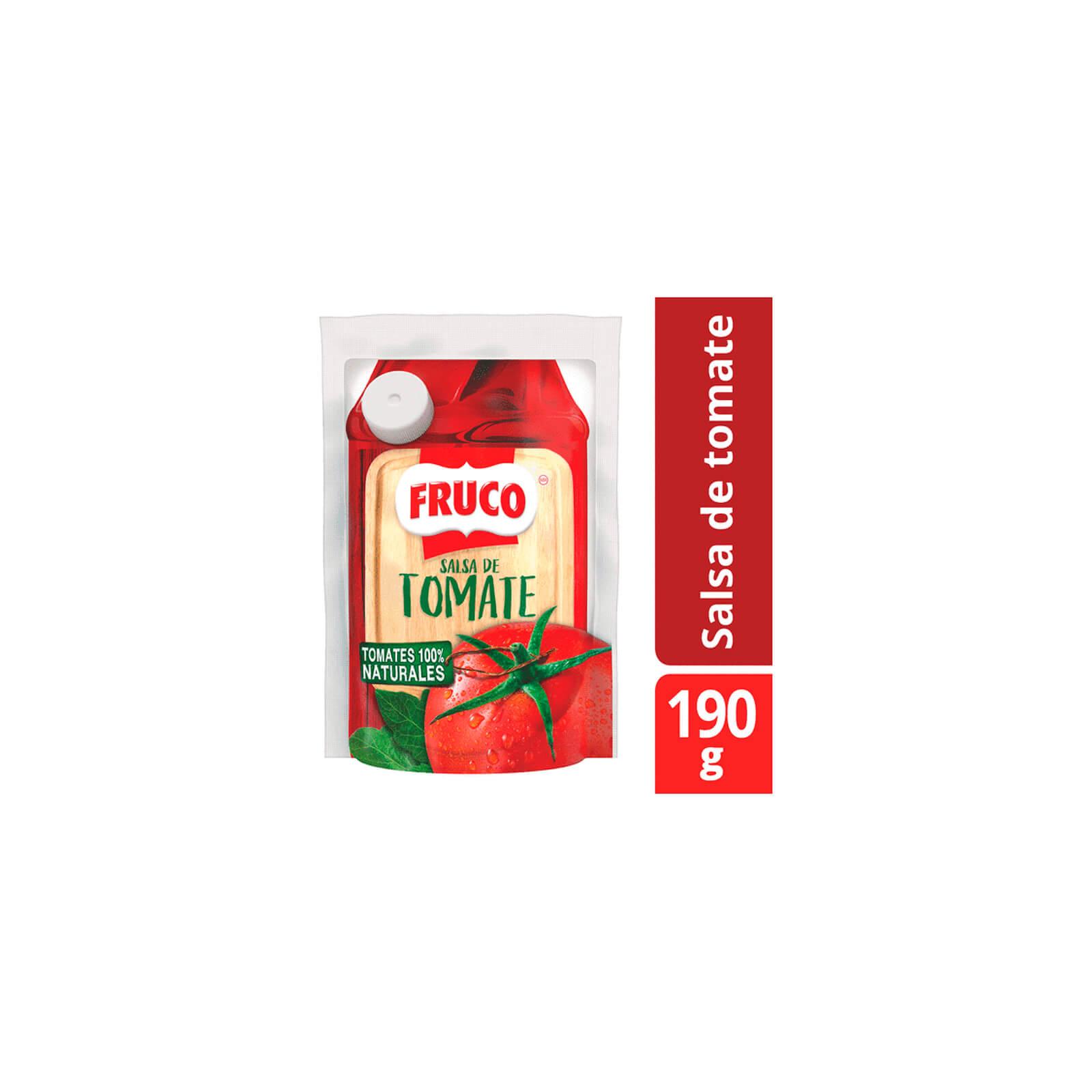Salsa De Tomate Fruco Doypack