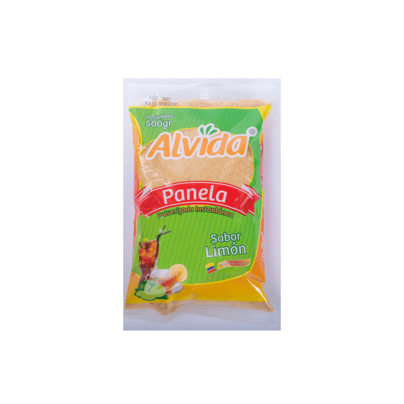 Panela Pulverizada Limón Alvida