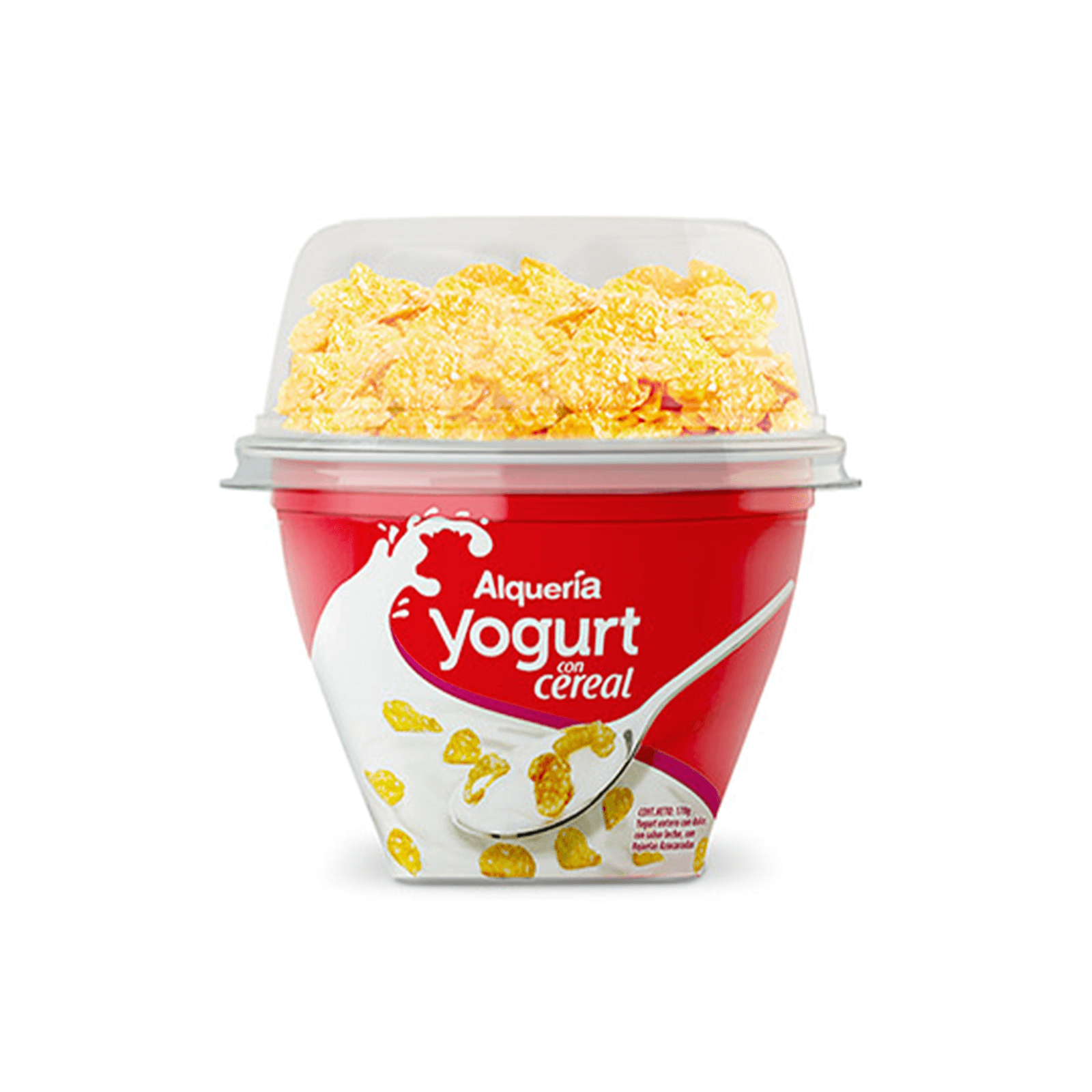Yogurt Con Hojuelas Crujientes Alquería