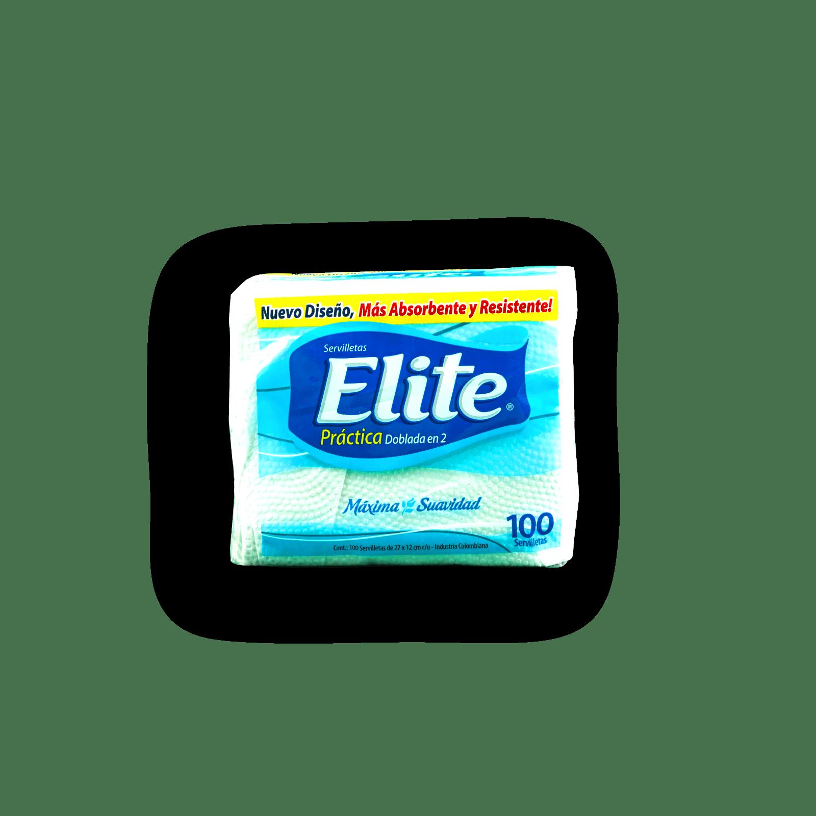 Servilleta Elite Doblada En Dos