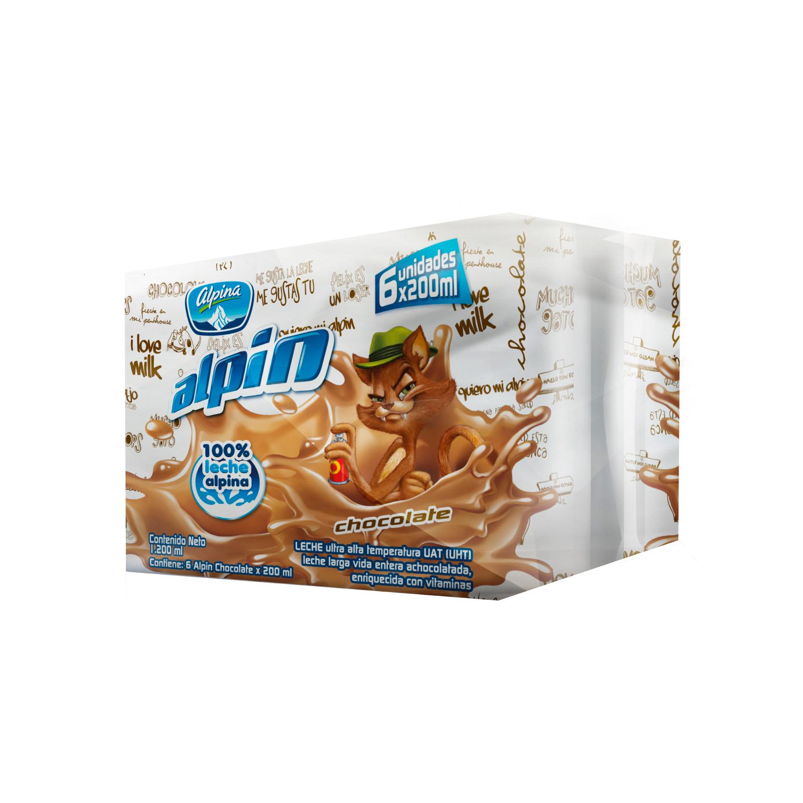 Alpin Sabor A Chocolate