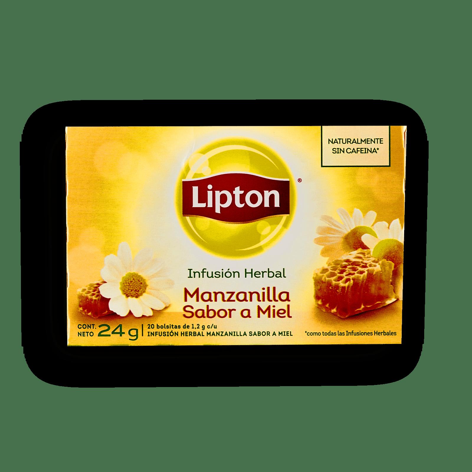 Infusión Herbal Lipton Manzanilla Sabor A Miel