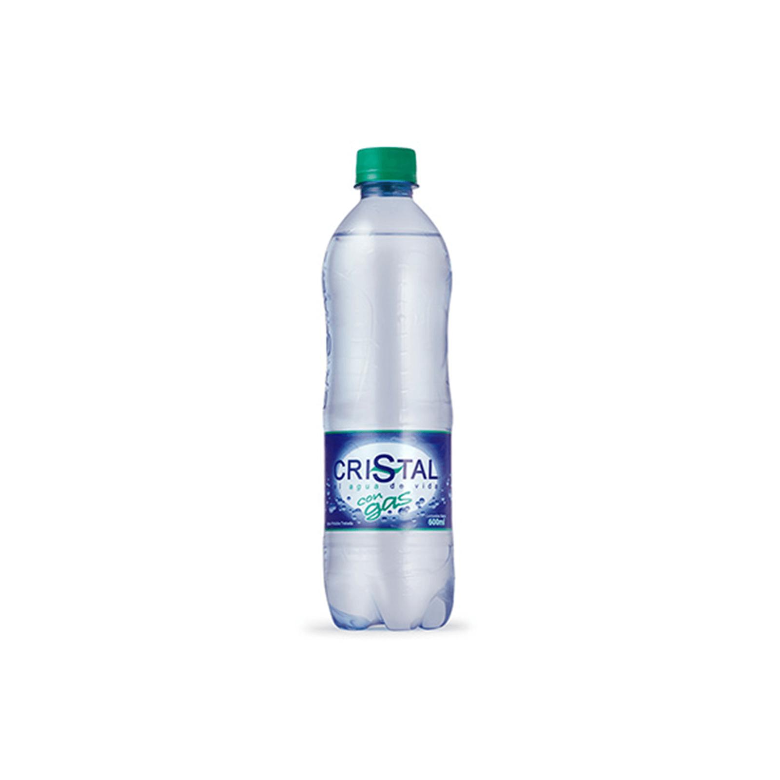 Agua Cristal Con Gas