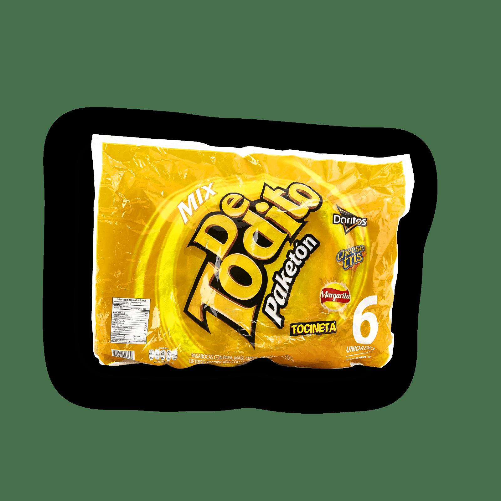 De Todito Mix Tocineta Paketón