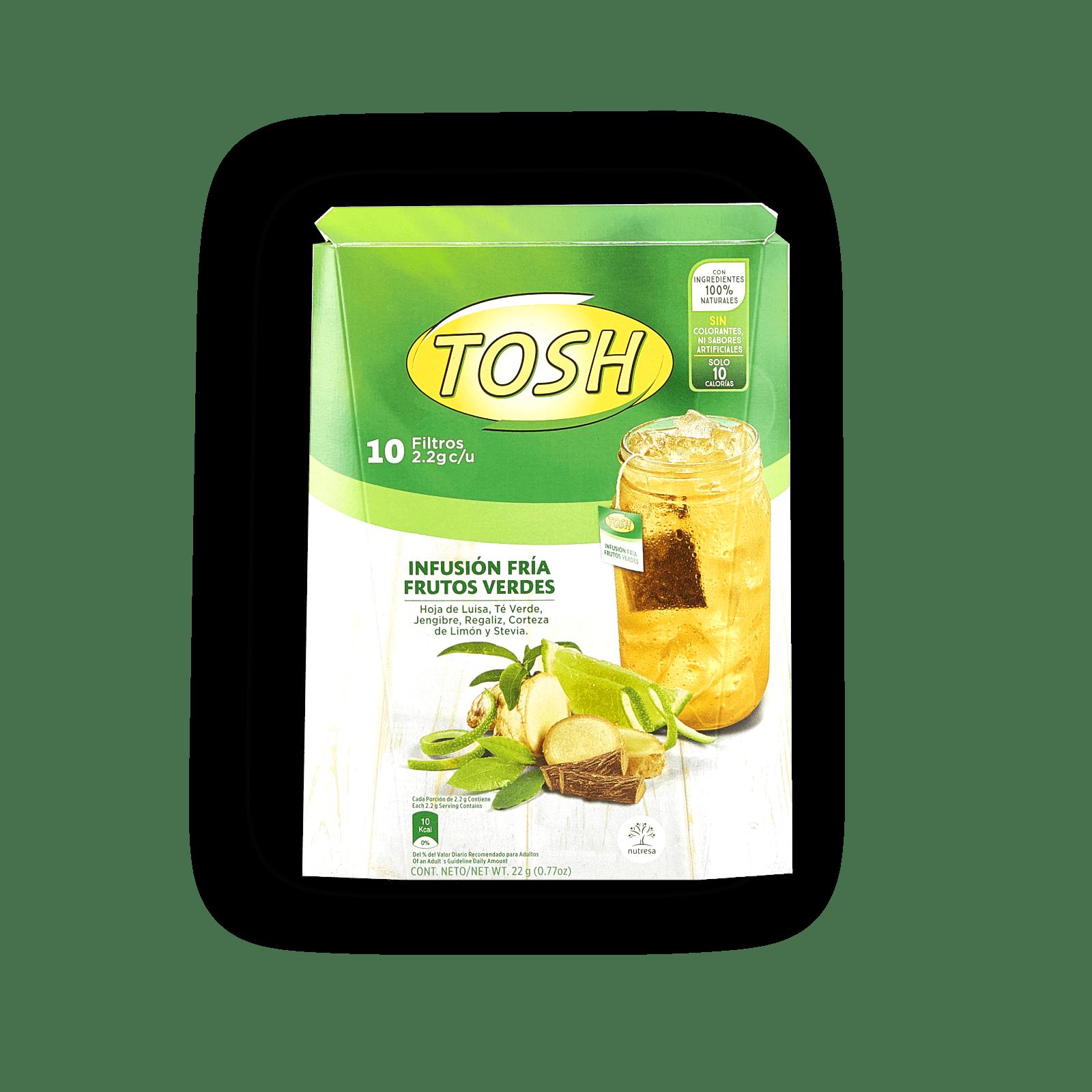 Infusión Fría Frutos Verdes