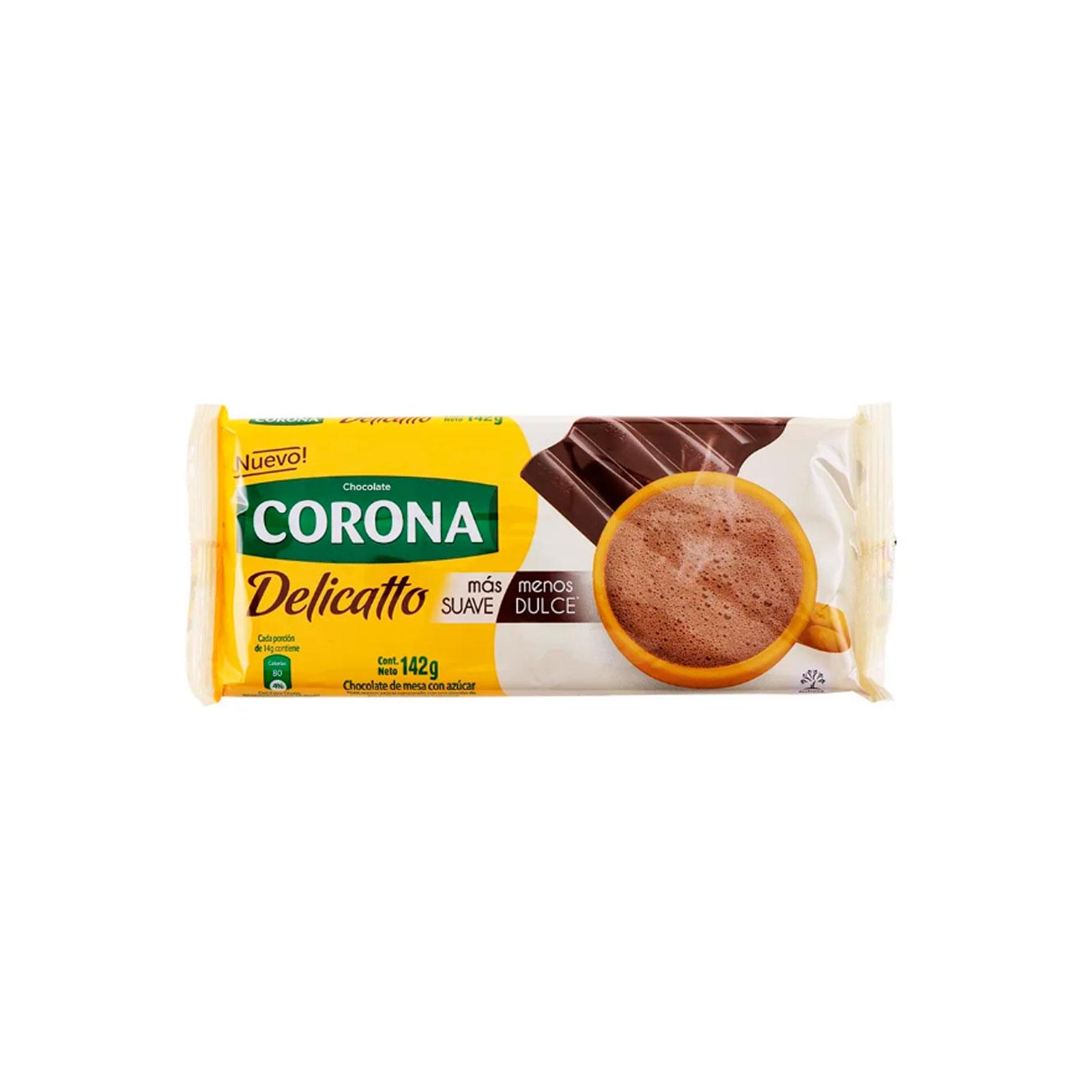 Chocolate En Barra Delicatto Corona