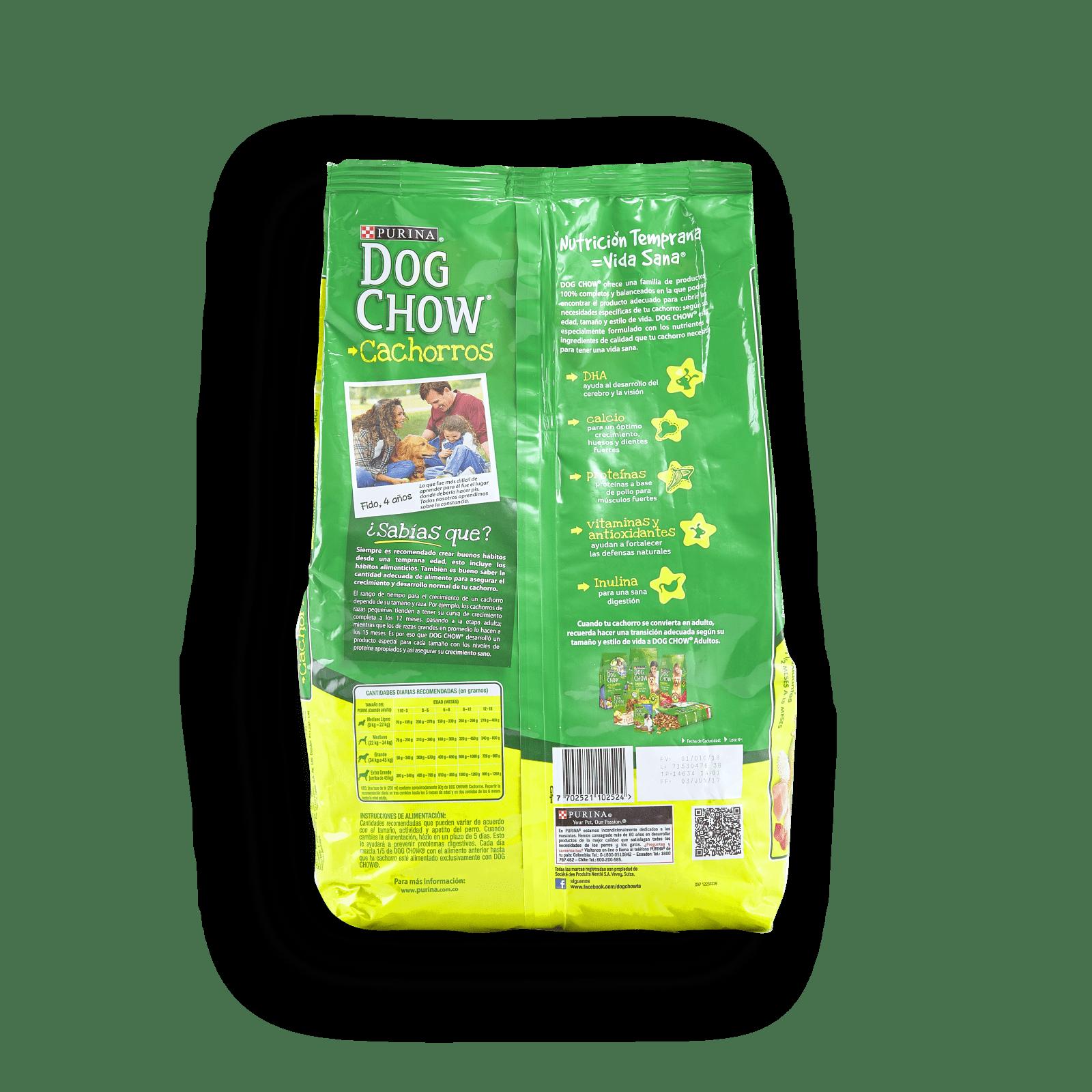 Alimento Para Cachorros Purina Dog Chow De 1/2 A
