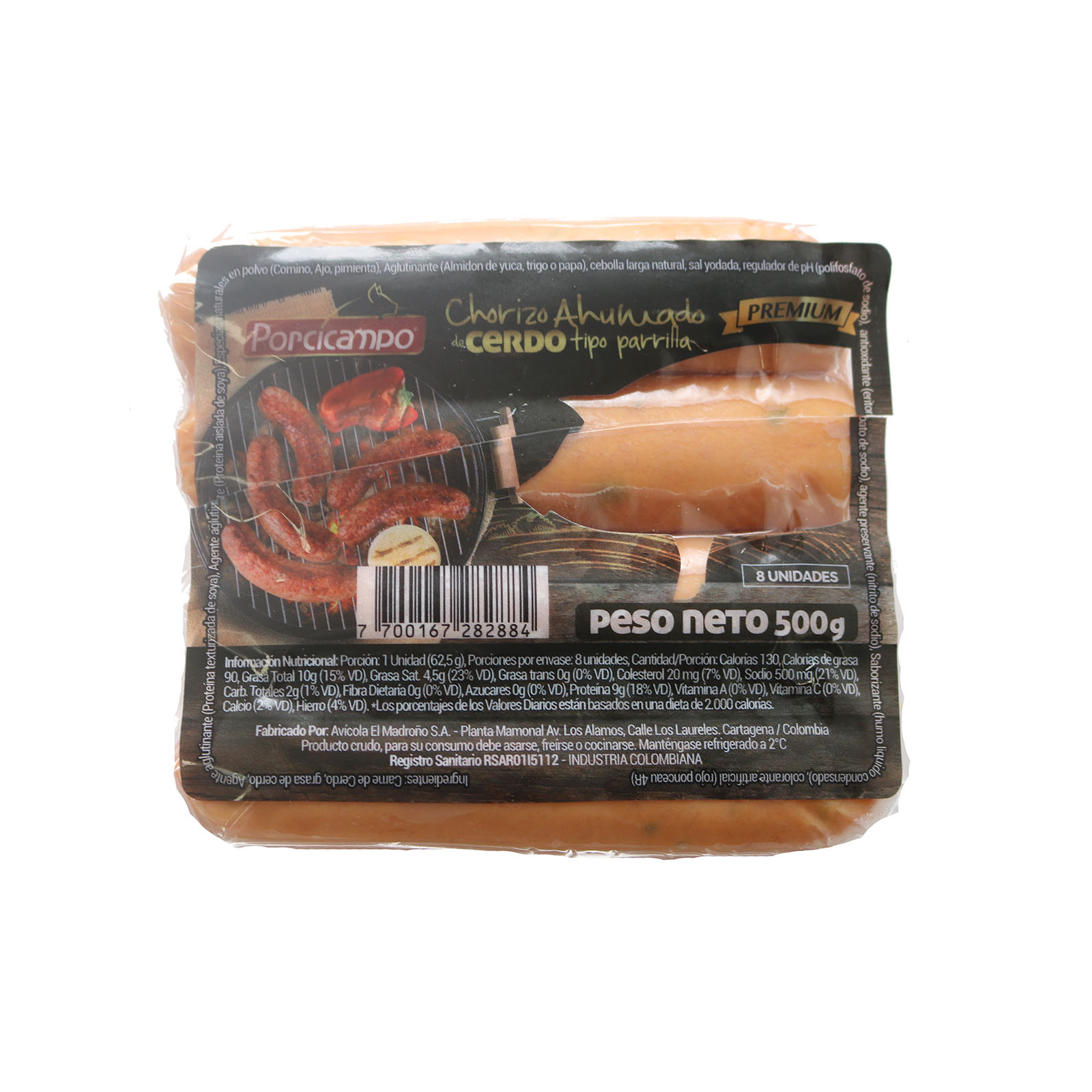 Chorizo Parrilla Ahumado