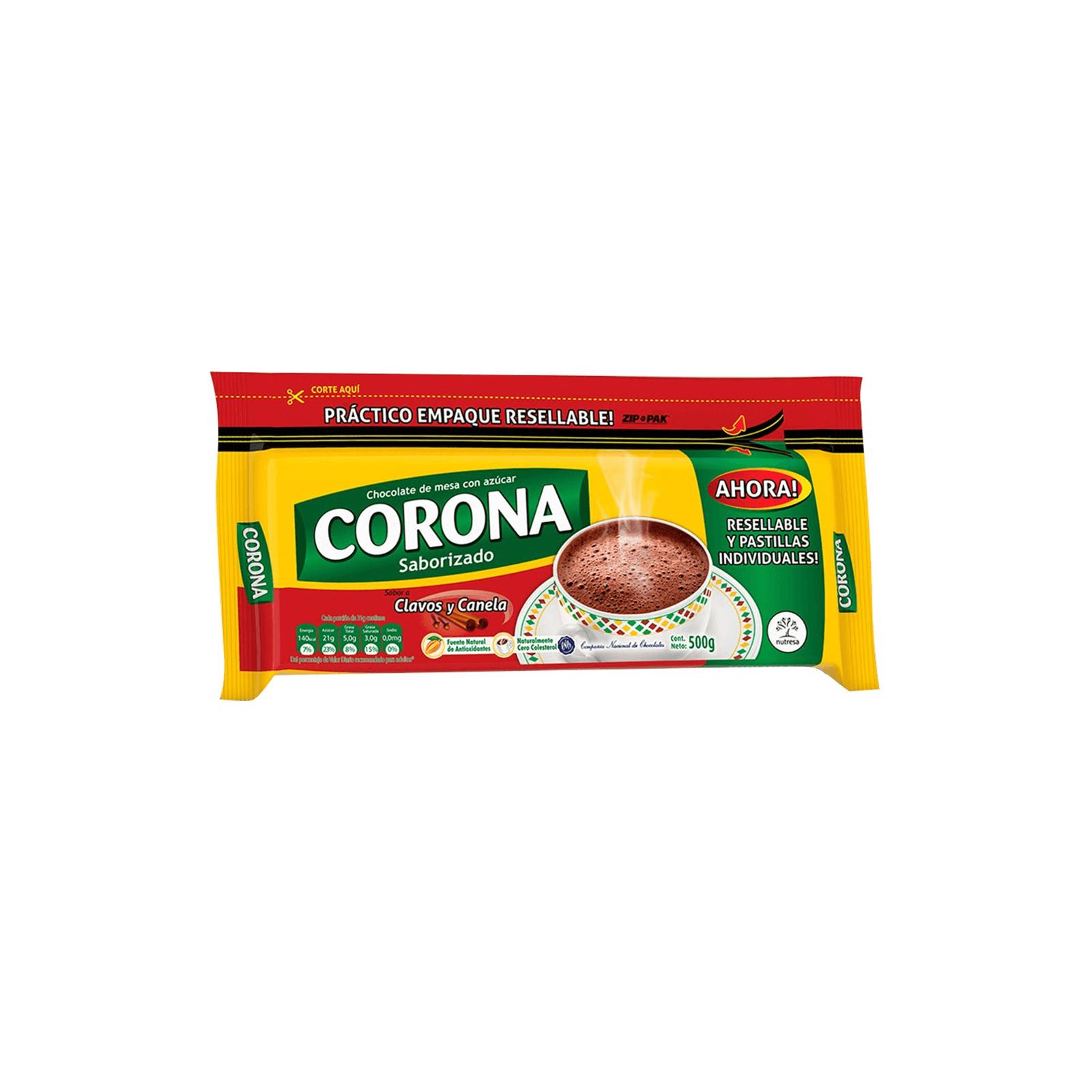 Chocolate Clavos Y Canela Corona