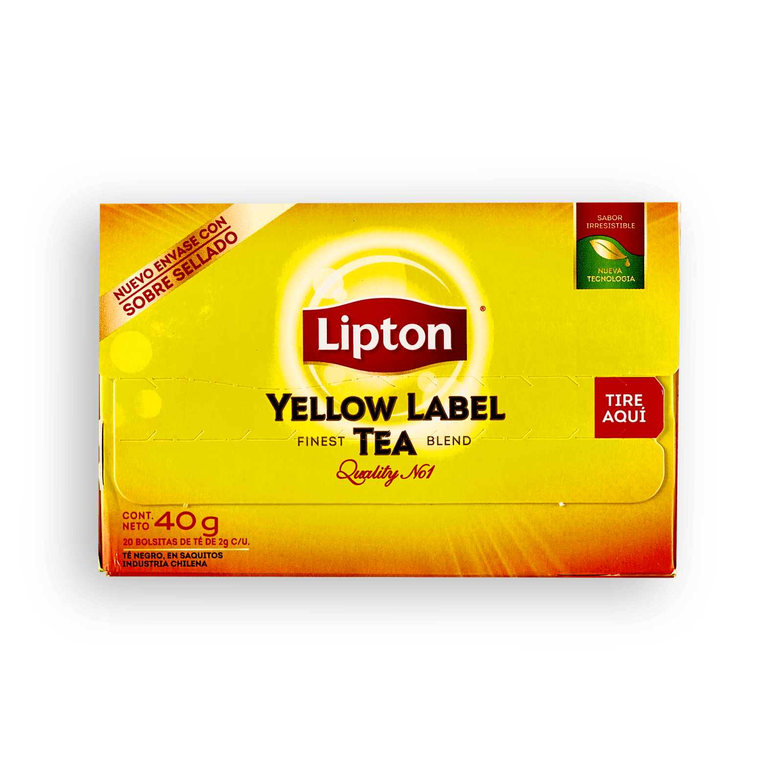 Té Yellow Label Lipton