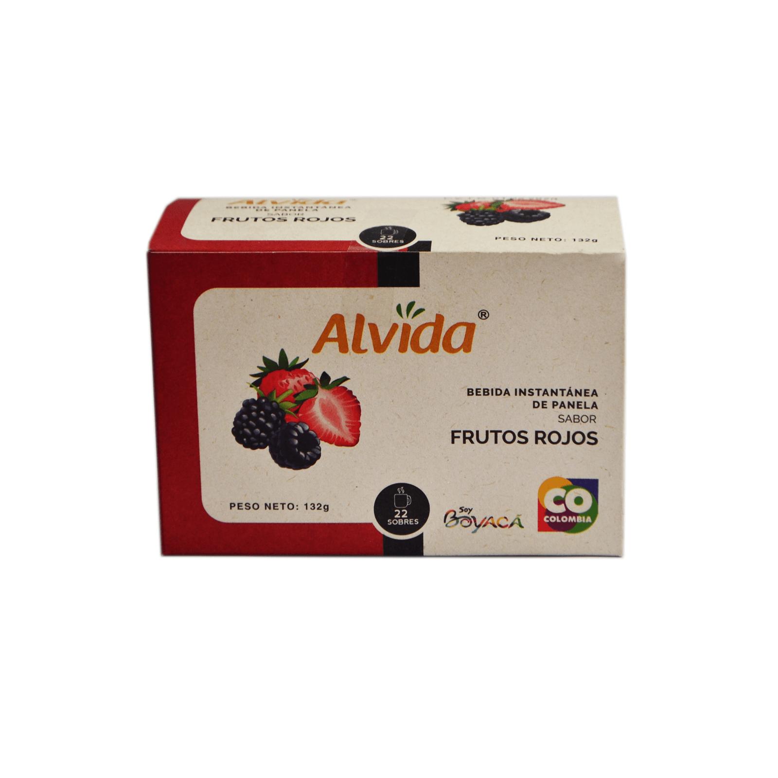 Aromática De Panela Frutos Rojos Alvida