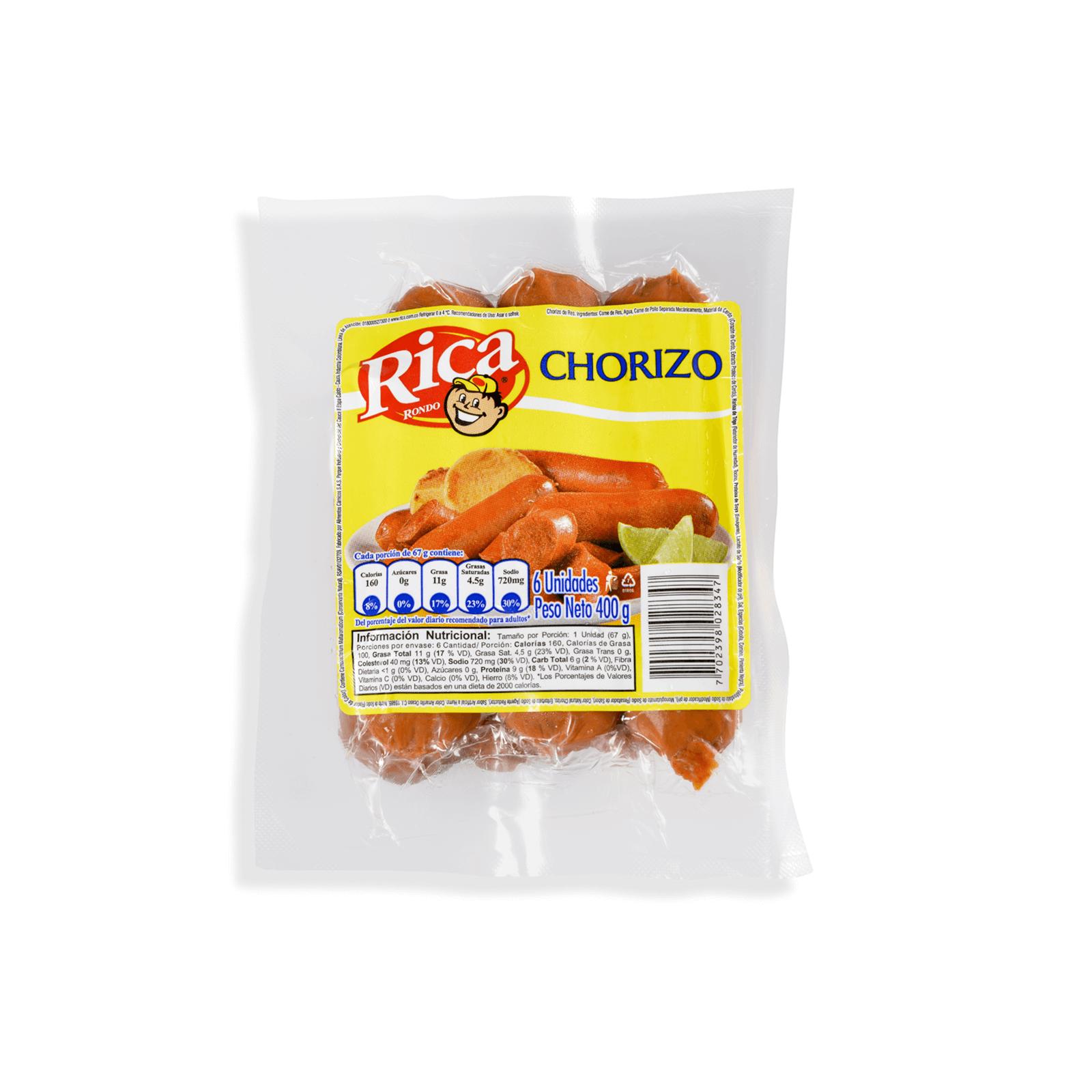 Chorizo Rica