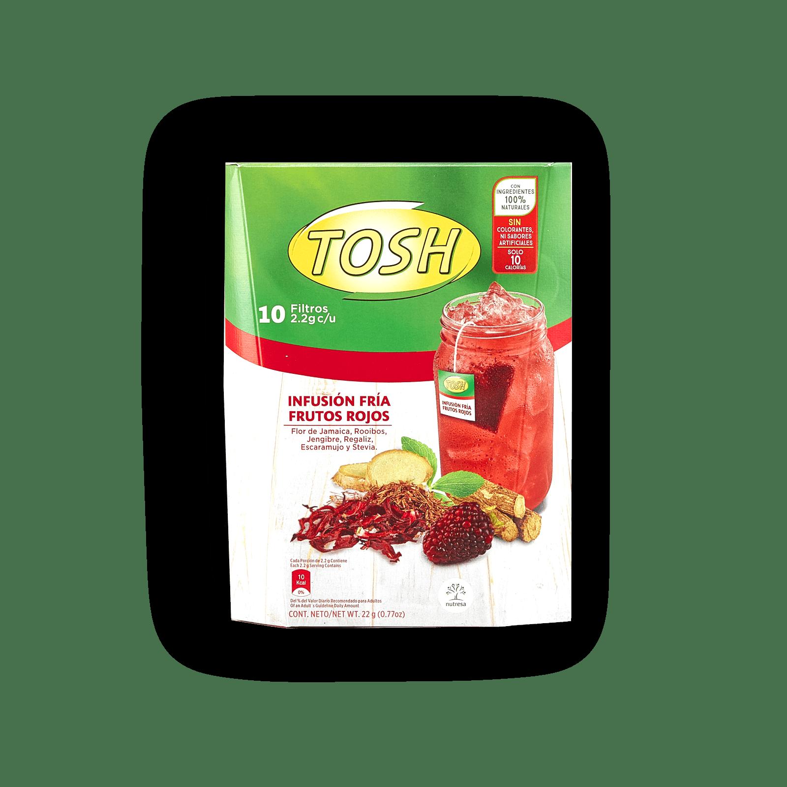Infusión Fría Frutos Rojos