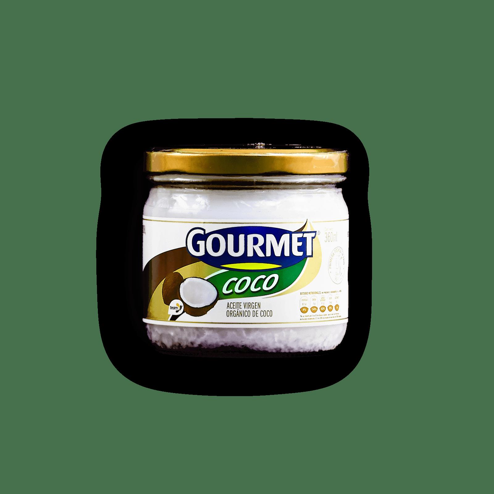 Aceite Virgen Organico De Coco Gourmet