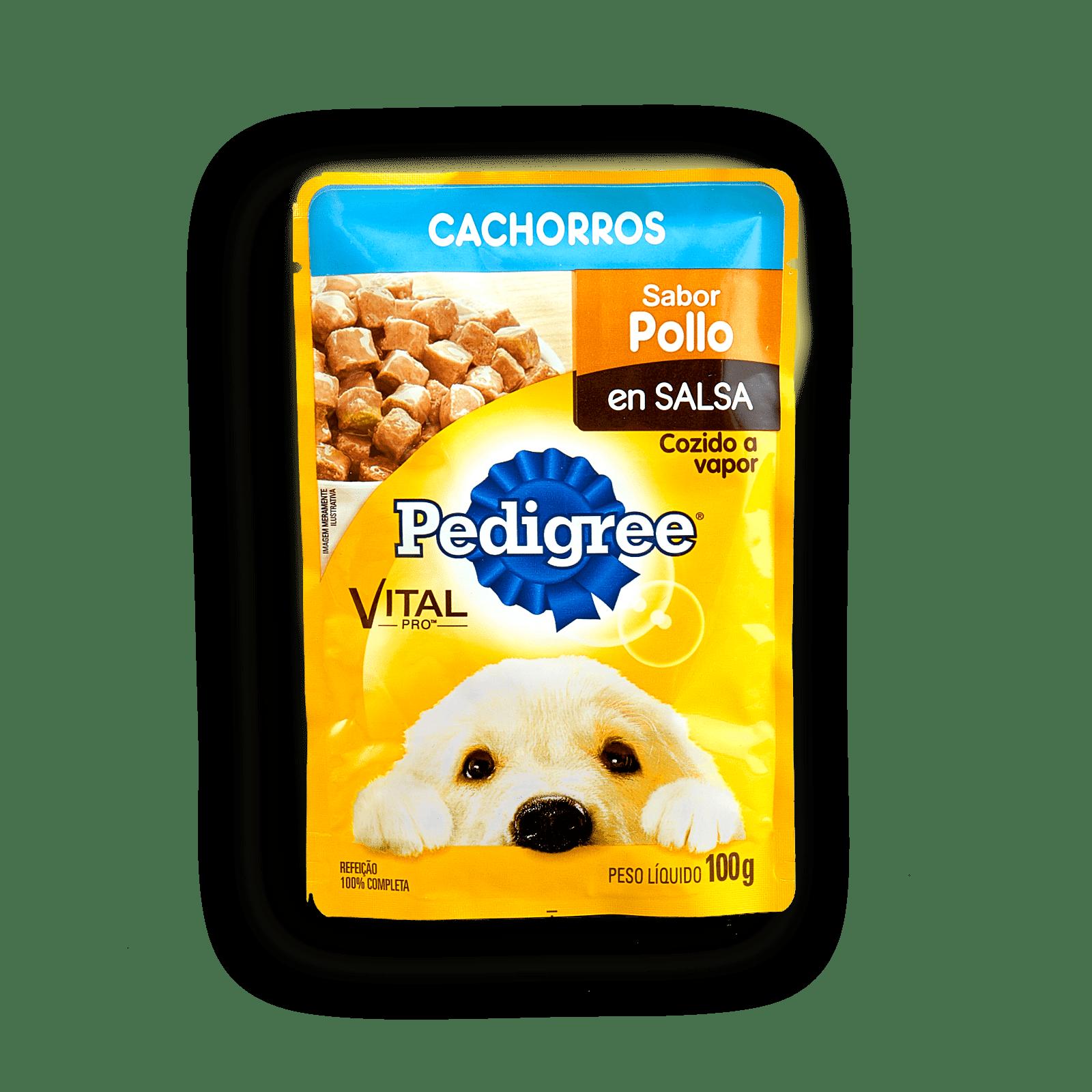 Alimento Perro Pedigree Cachorros Pouch Pollo En