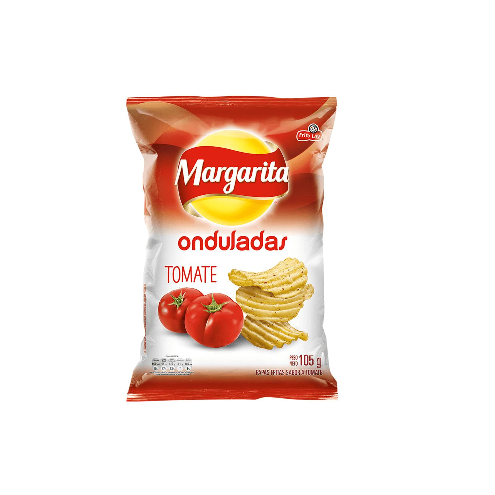Papa Margarita Ondulada Tomate