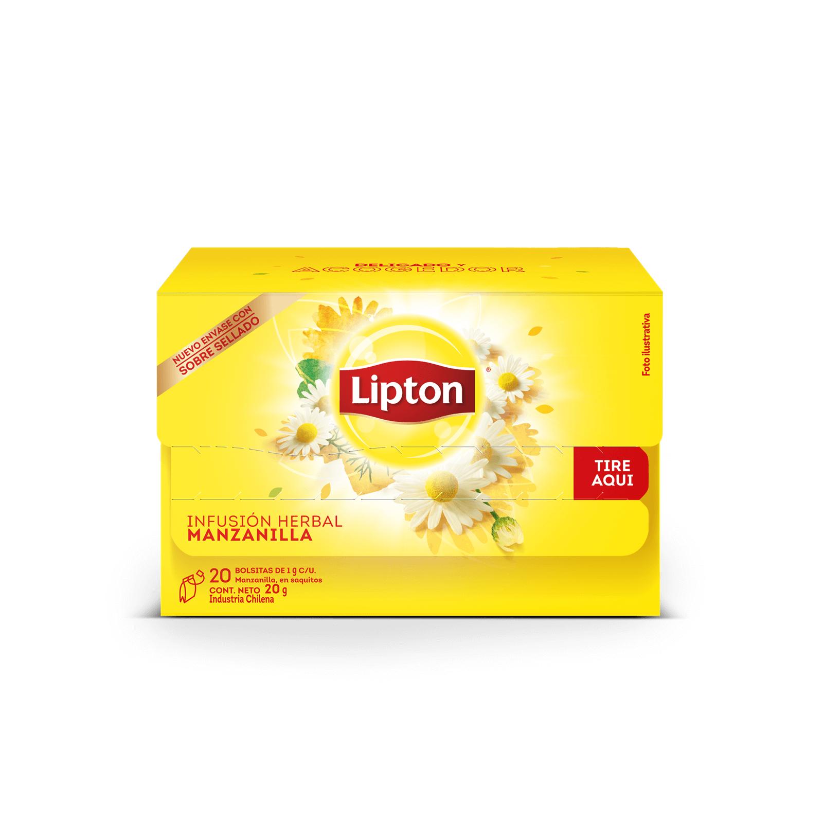 Infusión  Herbal Lipton Manzanilla