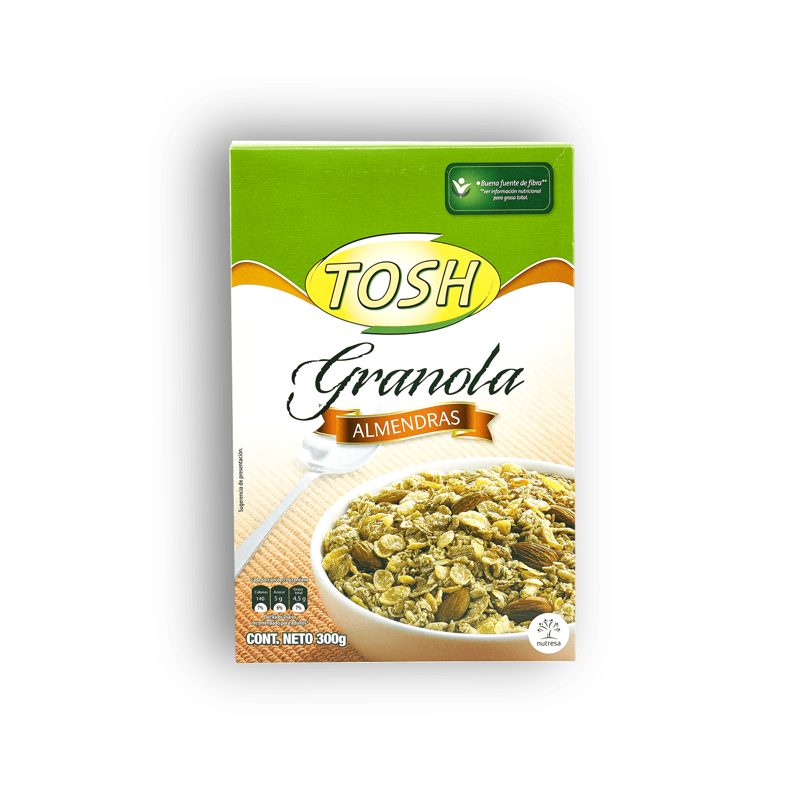 Granola Tosh Con Almendras