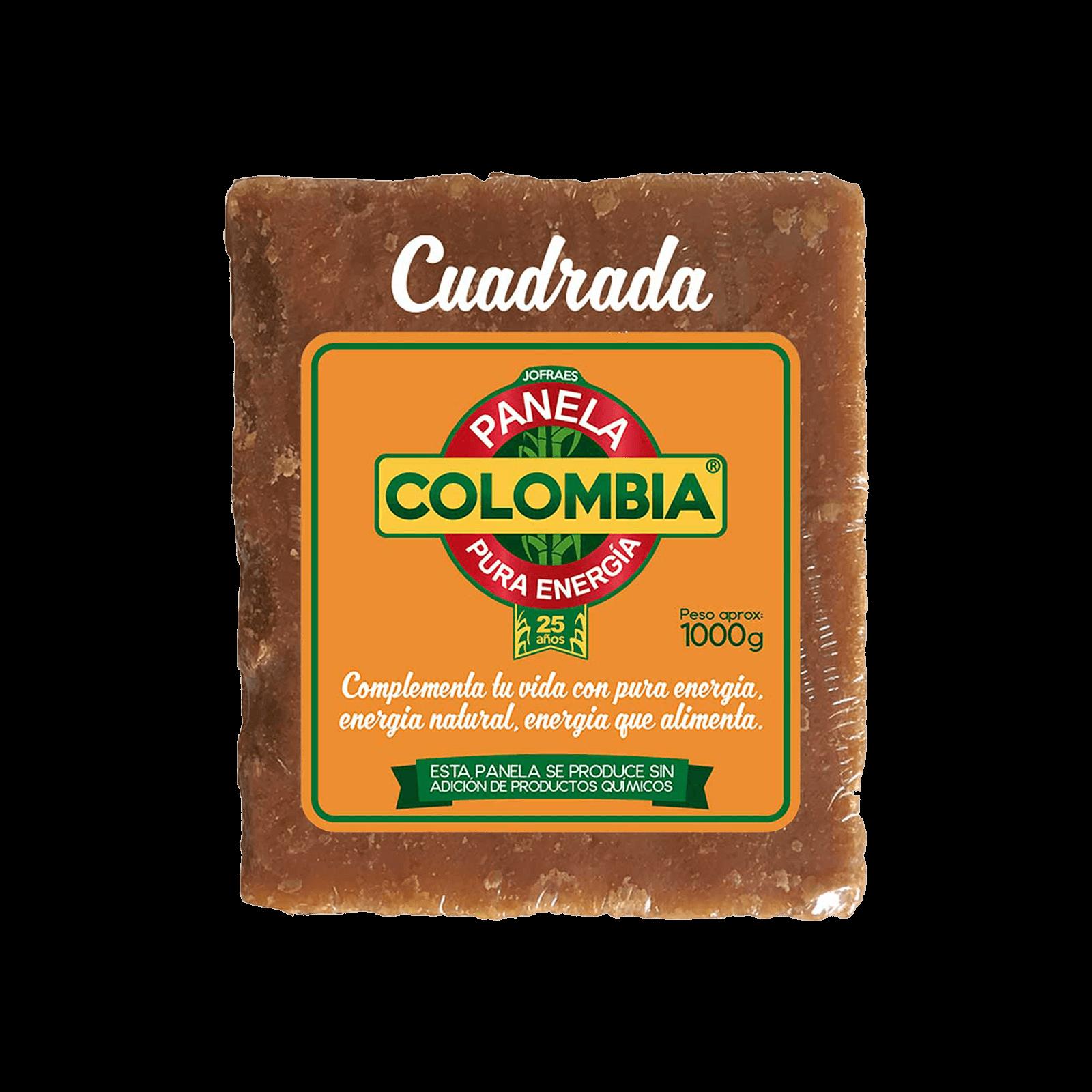 Panela Colombia Cuadrada
