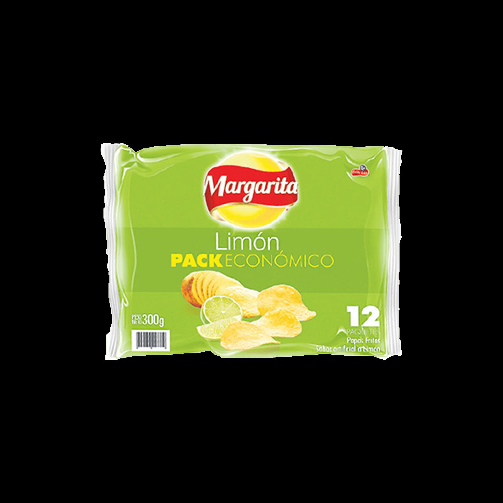 Papas Margarita Limón