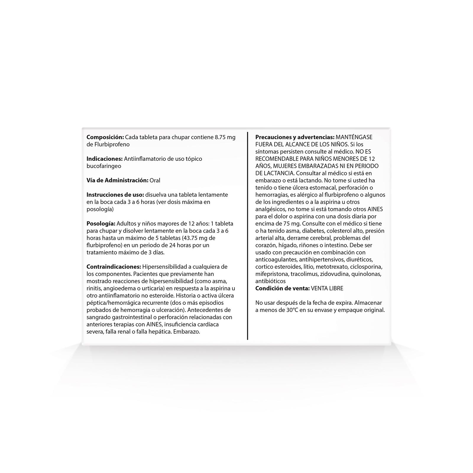 Antiinflamatorio Strepsils Intensive