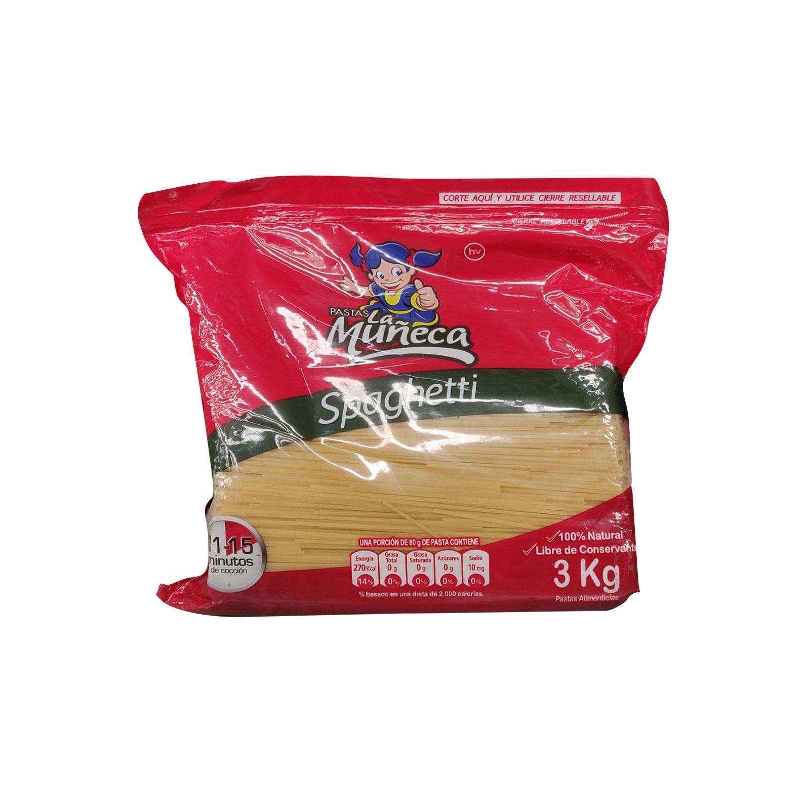 Pasta La Muñeca Spaguetti