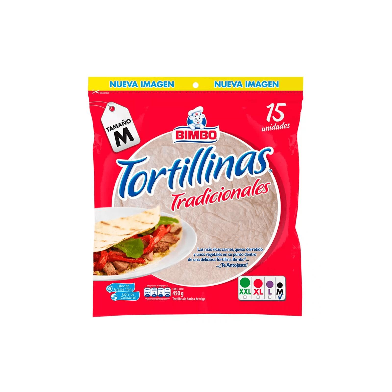 Tortillas Blancas Bimbo