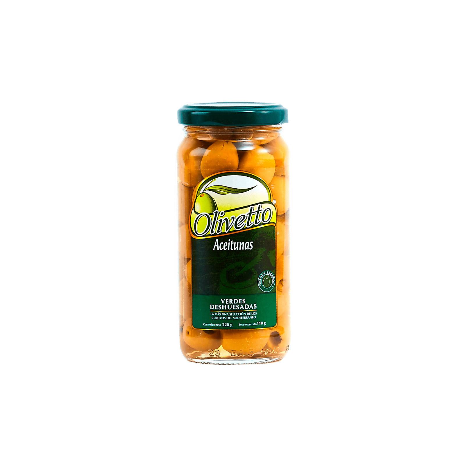 Aceitunas Verdes Deshuesadas Olivetto